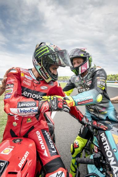Francesco Bagnaia, Valentino Rossi, Gran Premio Octo di San Marino e della Riviera di Rimini