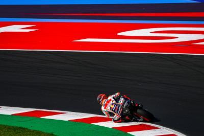 Márquez y la moto 2022: Un paso en ambas direcciones