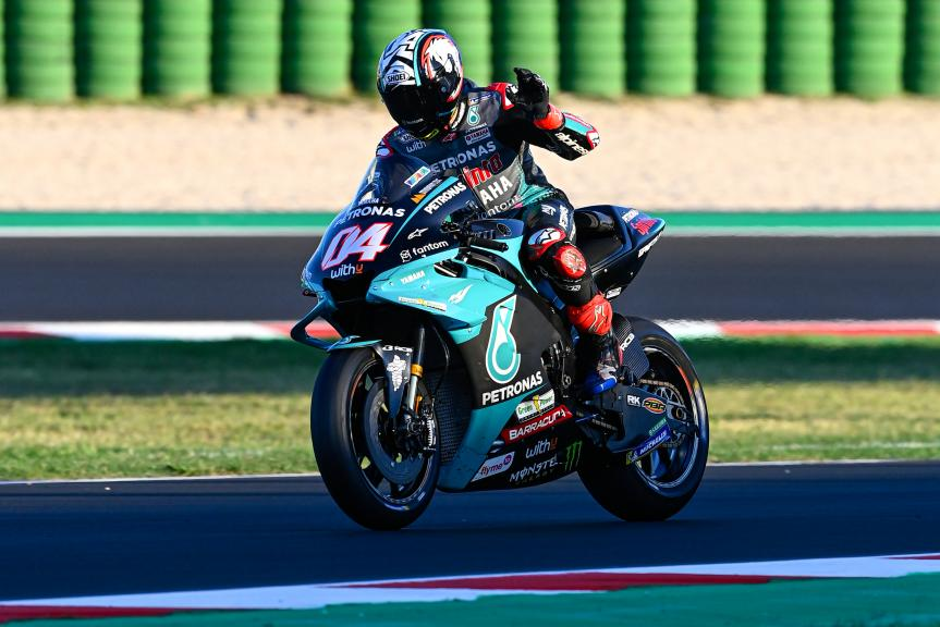Andrea Dovizioso, Petronas Yamaha STR, Misano MotoGP™ Official Test