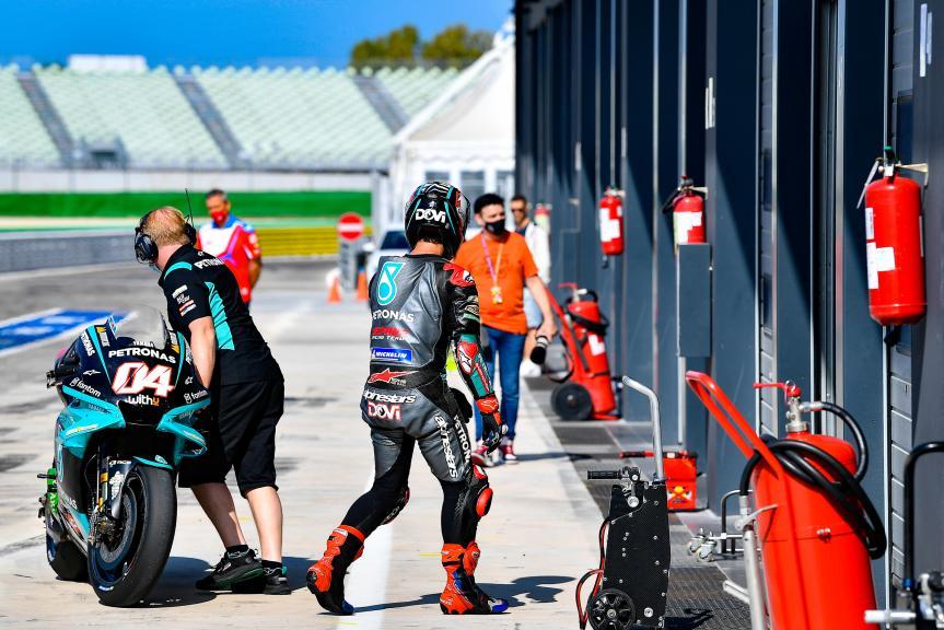 Andrea Dovizioso, Petronas Yamaha SRT, Misano MotoGP™ Official Test