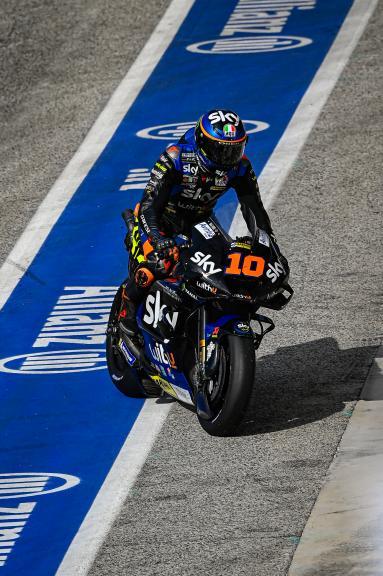 Luca Marini, Sky VR46 Avintia, Misano MotoGP™ Official Test