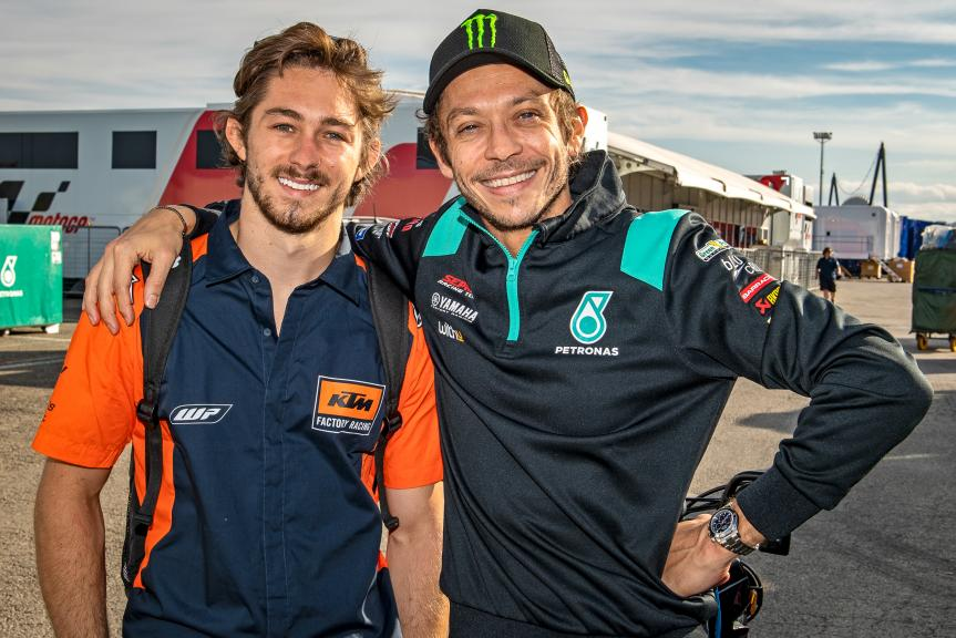 Valentino Rossi, Remy Gardner, Misano MotoGP™ Official Test