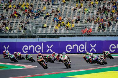 Relive a scarcely believable finale to the MotoE™ World Cup