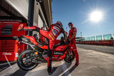 Miller celebra el progreso de su moto: 'Ha sido fantástico'