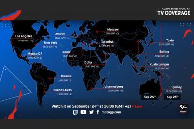 Where to watch MotoGP™ eSport Global Series Round 3