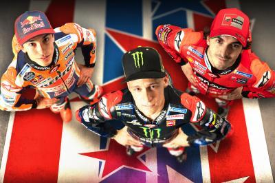 Bagnaia. Quartararo. Marquez? MotoGP™ saddles up stateside
