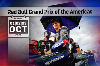 Todos los horarios del Gran Premio Red Bull de las Américas