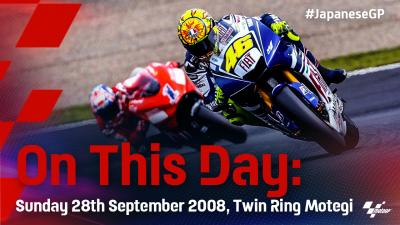 On This Day: Rossi reigns for the 8th time