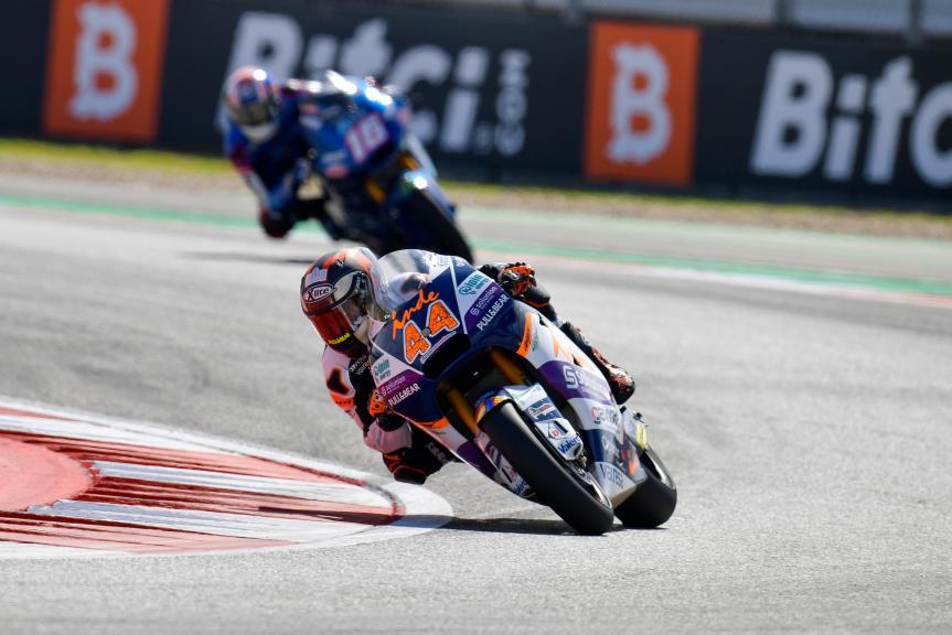 Aron Canet, Inde Aspar Team, Red Bull Grand Prix of The Americas