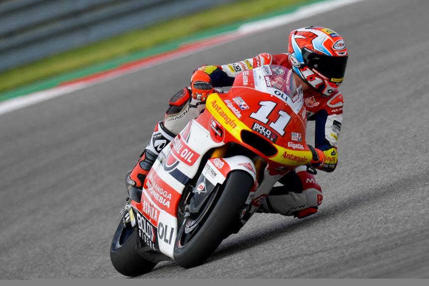 Nicolo Bulega, Federal Oil Gresini Moto2, Red Bull Grand Prix of The Americas