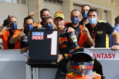 Moto2™ recap: Impeccable Fernandez takes back-to-back poles