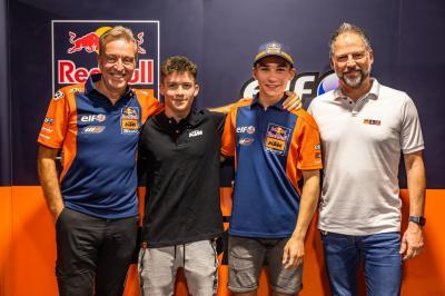 Öncü e Holgado, i piloti del Red Bull KTM Tech3 Moto3