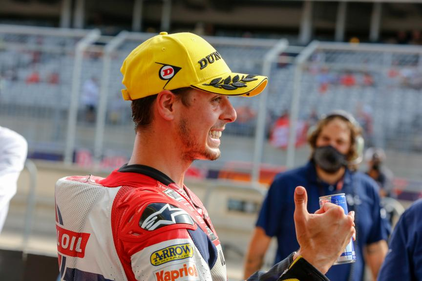 Fabio Di Giannantonio, Federal Oil Gresini Moto2, Red Bull Grand Prix of The Americas