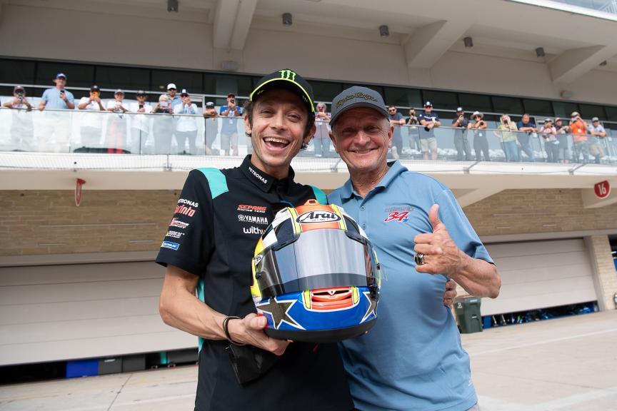 Valentino Rossi, Kevin Schwantz, Red Bull Grand Prix of The Americas
