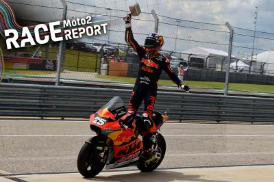 Raul Fernandez claims historic win as Gardner crashes out