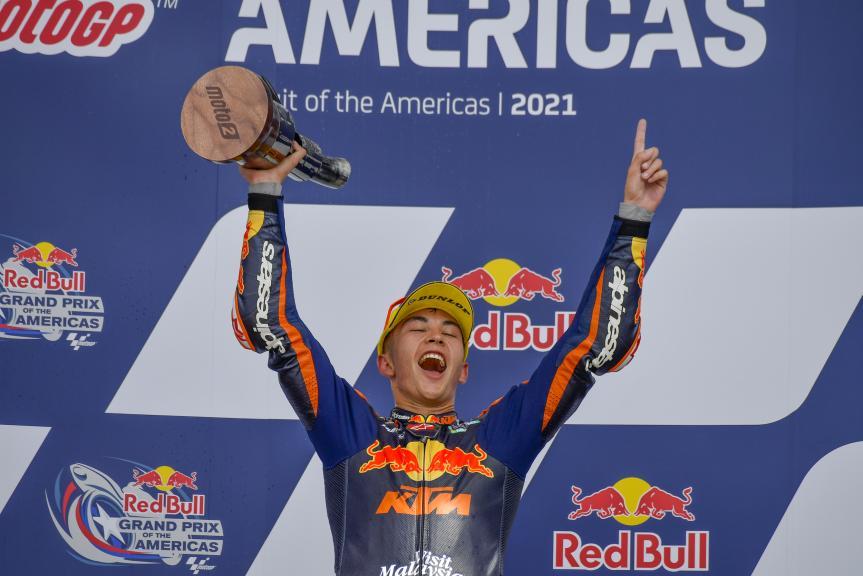 Raul Fernandez, Red Bull KTM Ajo, Red Bull Grand Prix of The Americas