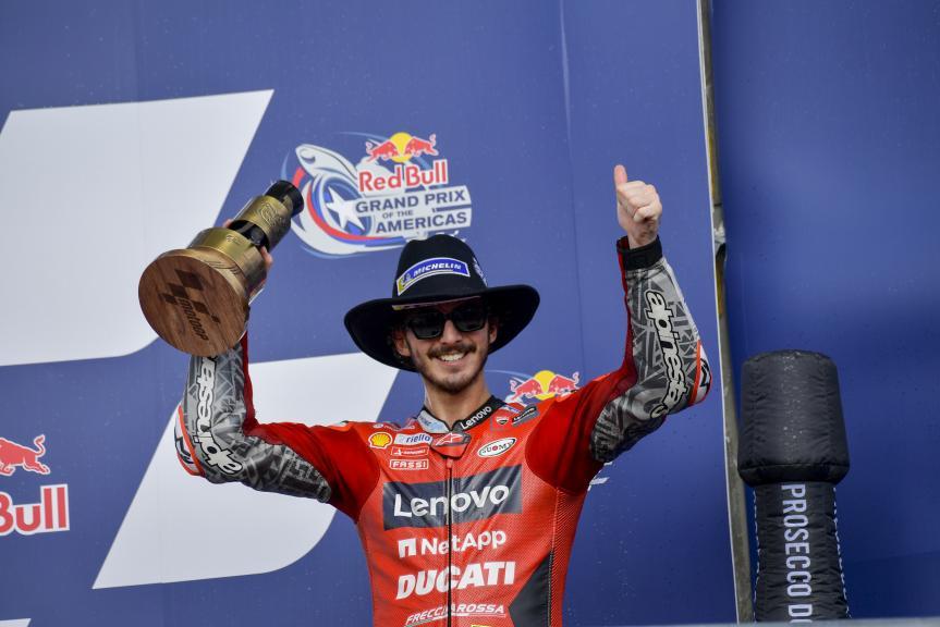 Francesco Bagnaia, Ducati Lenovo Team, Red Bull Grand Prix of The Americas