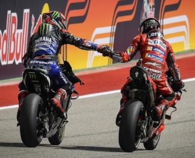 Things we love to see Respect between the title contenders