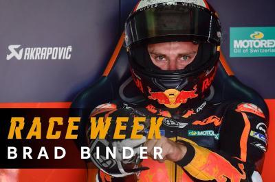Red Bull Race Week: Brad Binder hopes for MotorLand magic