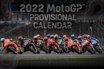 Provisional 2022 MotoGP™ calendar revealed