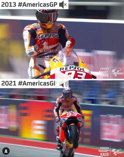 Eight years apart but the result is the same! (VIDEO)