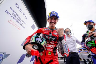 Bagnaia: 'I will not give up'