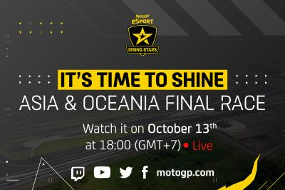It's time for the second Rising Stars Series Regional Final