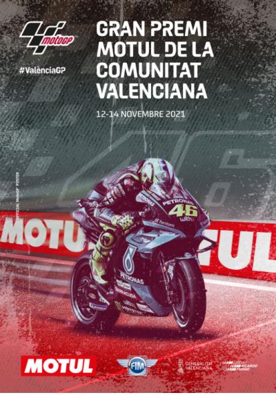 This is #ValenciaGP Official Poster See you at Circuit Ricardo
