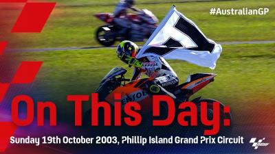 On This Day: Rossi beats the clock