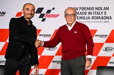 MotoE™: La rueda de prensa de la nueva era con Ducati