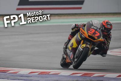 Moto2™ - A. Fernández domine des FP1 mouvementées