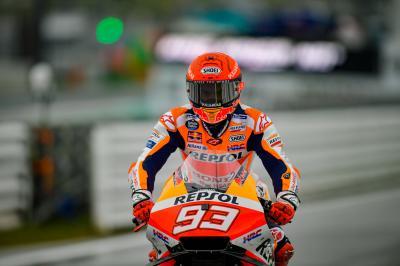 Q2 the centre of Marquez' focus after below par Friday