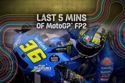 FREE: Relive the final minutes of FP2 from Misano