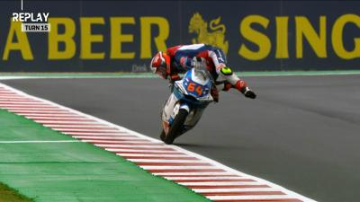Bendsneyder defies gravity for spectacular save in Misano