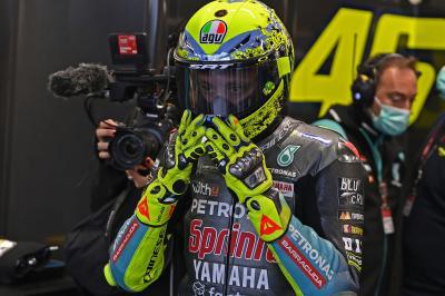 Rossi enthüllt seinen letzten Spezial-Helm für seine Fans