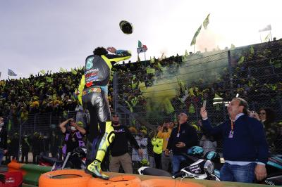 'This sport is my life' - Rossi bids farewell to Misano