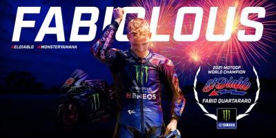 Fabio Quartararo Crowned MotoGP World Champion in Misano