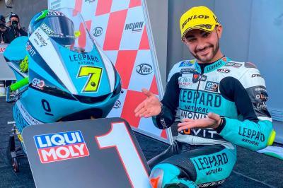 Moto3™: Gran remontada de Foggia para seguir soñando