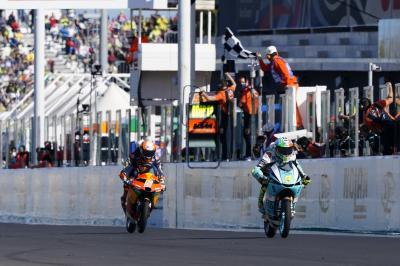 GRATIS: Il fenomenale giro finale della Moto3™ a Misano
