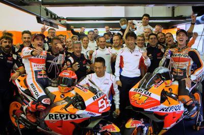 UNSEEN: 'Big balls or stupid?' - Magic in Misano for Honda