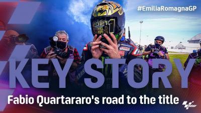Key Story: Fabio Quartararo's road to the 2021 title!