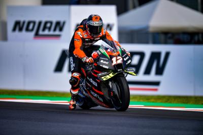 Viñales finding his feet with Aprilia after maiden top 10